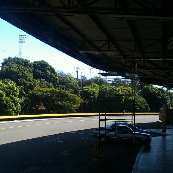 Photo taken at Terminal Rodoviário José Garcia Villar by ... .. on 7/18/2013