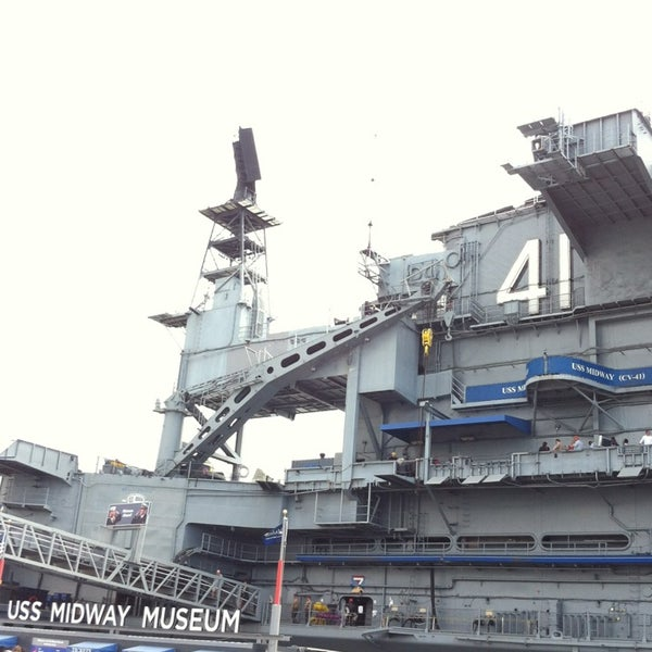 Photo taken at USS Midway Museum by Tuk_Suthavadee on 4/5/2013