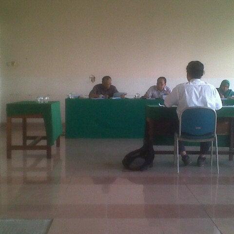 Photo taken at Institut Ilmu Sosial dan Ilmu Politik (IISIP) by Haniffa N. on 2/7/2013