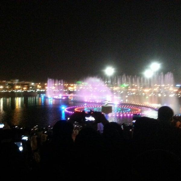 Photo taken at King Abdullah Park by Anas A. on 10/17/2013