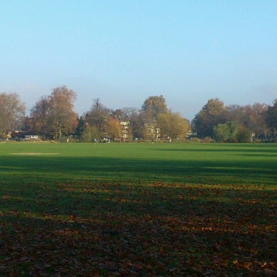Photo taken at Clapham Common by Charlie G. on 11/19/2011