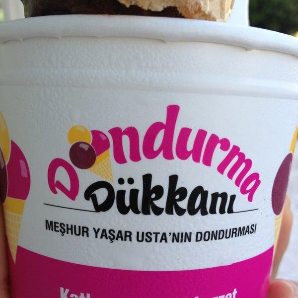 5/26/2013 tarihinde İpek S.ziyaretçi tarafından Dondurma Dükkanı'de çekilen fotoğraf