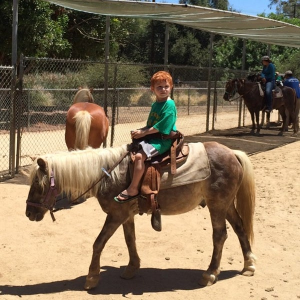 Photo taken at Griffith Park Pony Rides by Donny F. on 7/23/2014