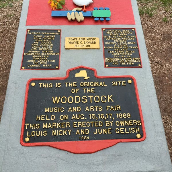 Photo taken at Woodstock Festival Concert Site/Monument by Emily M. on 6/13/2016