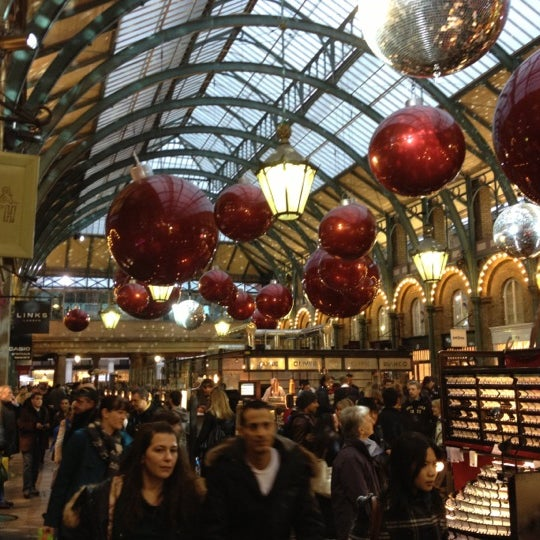 Photo taken at Covent Garden Market by Dimitris T. on 11/17/2012