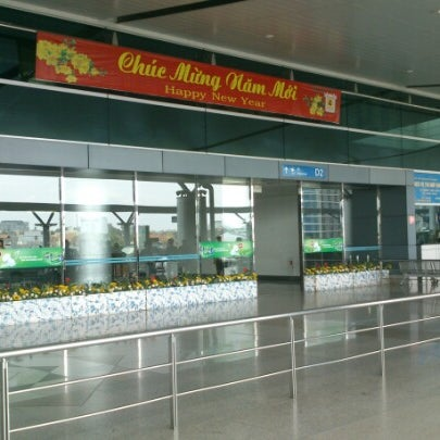 Photo taken at Tan Son Nhat International Airport (SGN) by Tony E. on 2/7/2013