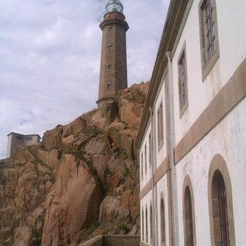 Photo taken at Faro de Cabo Vilán by Vero on 9/16/2012