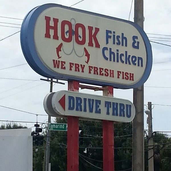 Hook fish chicken seafood restaurant for Fish hook and chicken