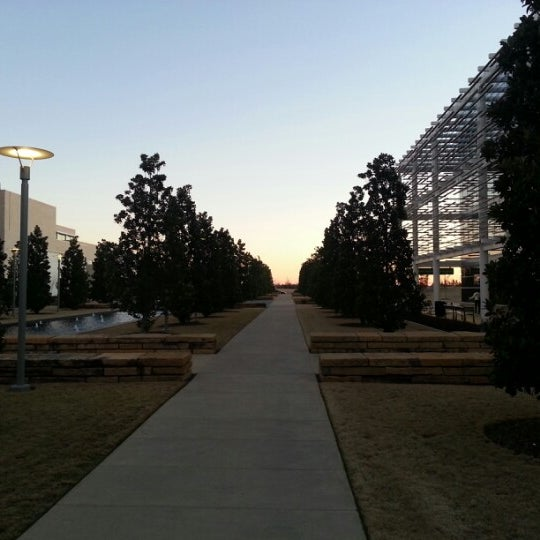 Photo taken at The University of Texas at Dallas (UTD) by Matthew C. on 1/30/2013