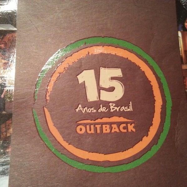 Foto tirada no(a) Outback Steakhouse por Herá M. em 2/19/2013