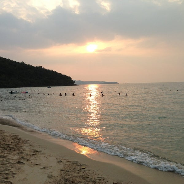 Photo taken at Sai Keaw Beach by MC M. on 1/16/2013