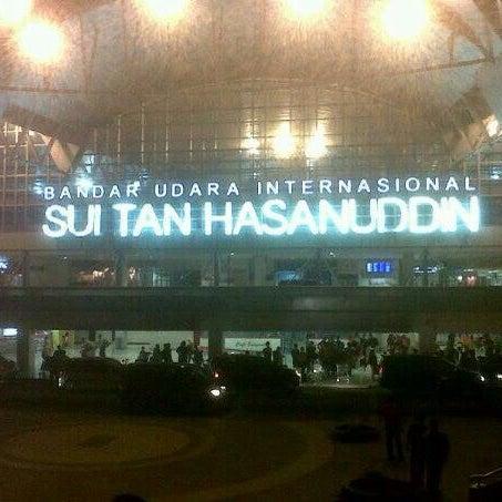 Photo taken at Sultan Hasanuddin International Airport (UPG) by Sry RahayuNingsih on 6/8/2013