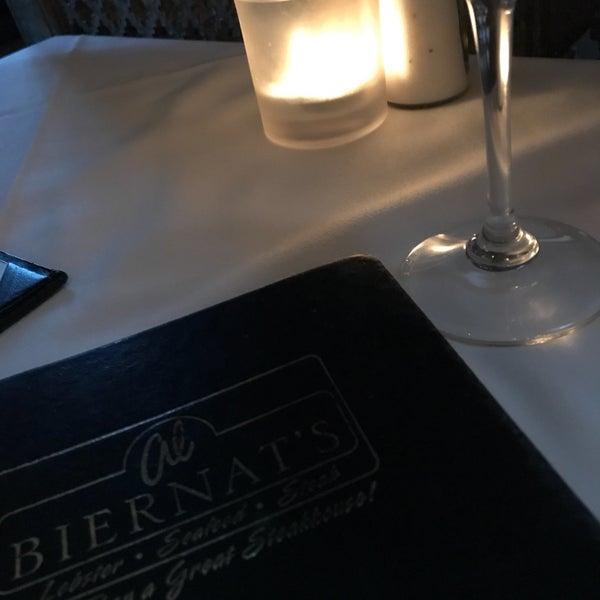Photo taken at Al Biernat's Prime Steak & Seafood by belindelag on 7/9/2017