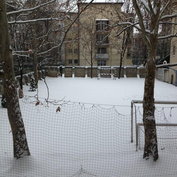 Photo taken at Budai Középiskola by Dóri S. on 1/14/2013
