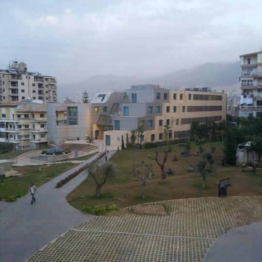 Photo taken at Holy Spirit University Of Kaslik by Rony S. on 1/28/2013