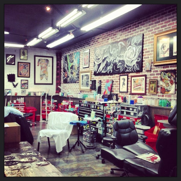 Miami ink tattoo studio tattoo parlor in miami beach for Ink tattoo shop