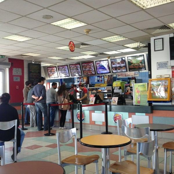 Photo taken at Burger King by Kadir M. on 3/9/2013