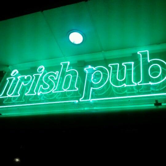 Photo taken at Dublin's Irish Pub by Stephanie B. on 1/10/2013