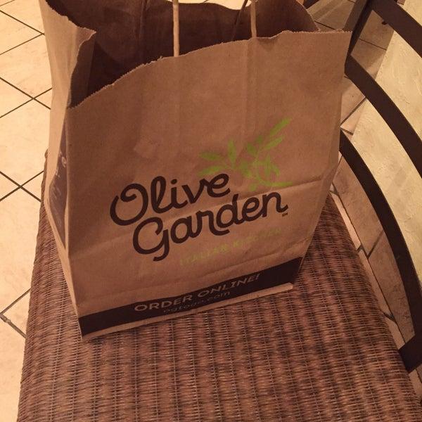 Photo Taken At Olive Garden By Hajji Q. On 3/29/2015