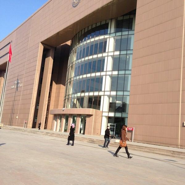 Photo taken at Bakırköy Adalet Sarayı by Deniz Y. on 3/4/2013
