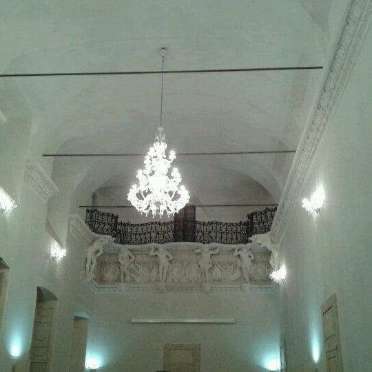 Photo taken at Villa Visconti Borromeo Litta by Luigi V. on 1/20/2013
