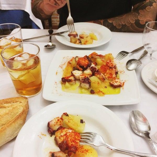 Comida espanhola excelente!