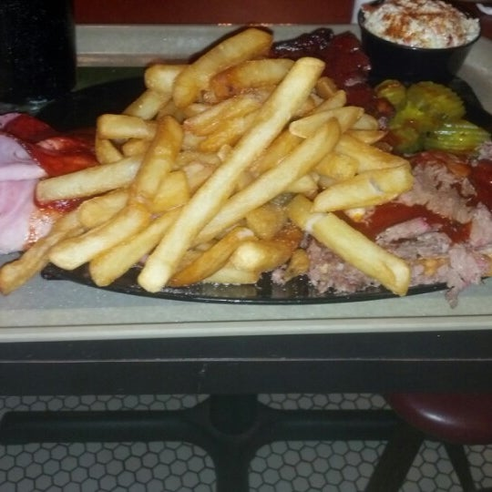 Photo taken at Gates Bar-B-Q by Kevin P. on 2/1/2013