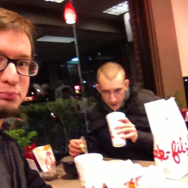 Photo taken at Chick-fil-A Bowie by Carl G. on 12/28/2012