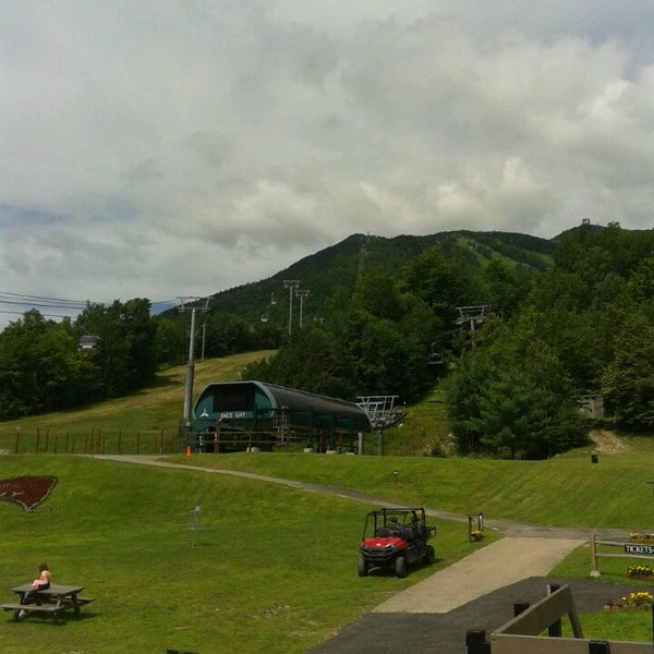 Photo taken at Whiteface Mountain by Richard B. on 7/26/2013