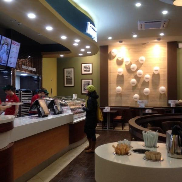 Снимок сделан в Krispy Kreme пользователем Владимир К. 12/12/2013