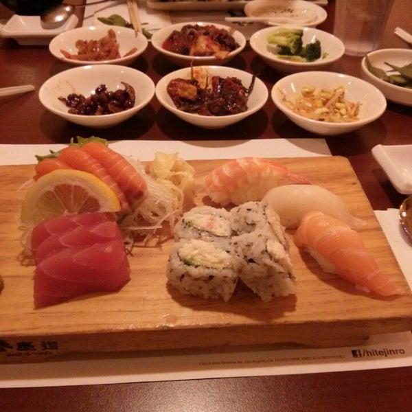 Jang soo sushi bar 3 tips for Aloha asian cuisine sushi