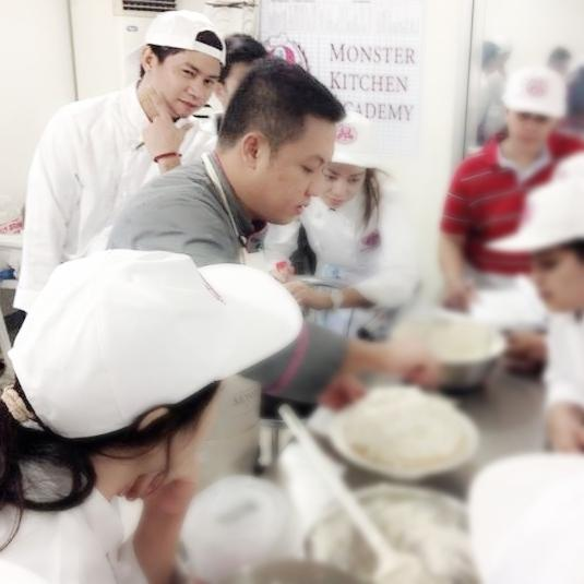 Photo Taken At Monster Kitchen Academy By Francis Ian P. On 7/31/