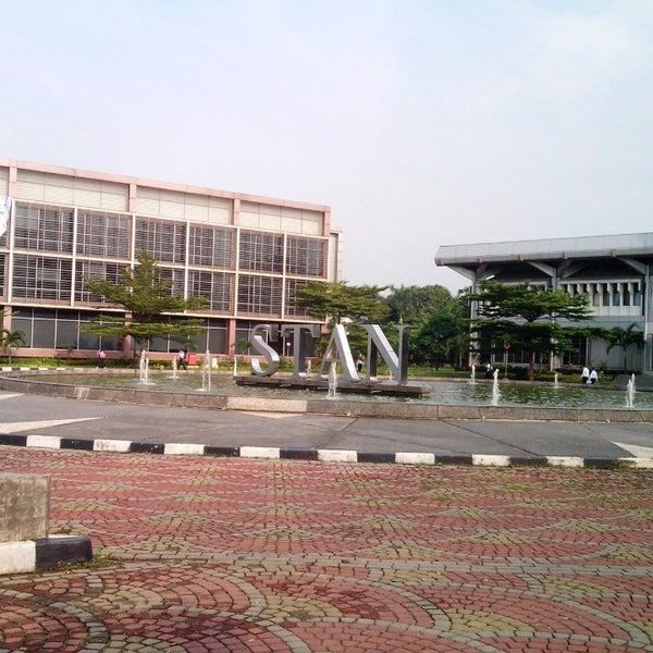 Photo taken at Sekolah Tinggi Akuntansi Negara (STAN) by sw y. on 11/6/2013