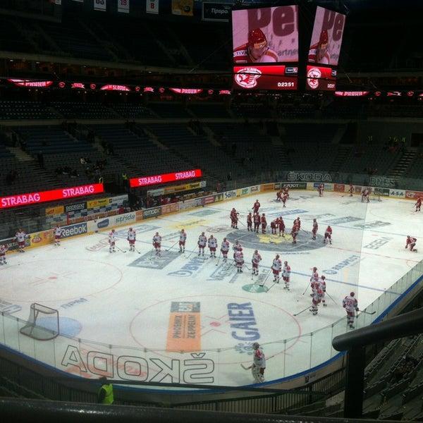 Photo taken at O2 arena by Kačka M. on 1/11/2013