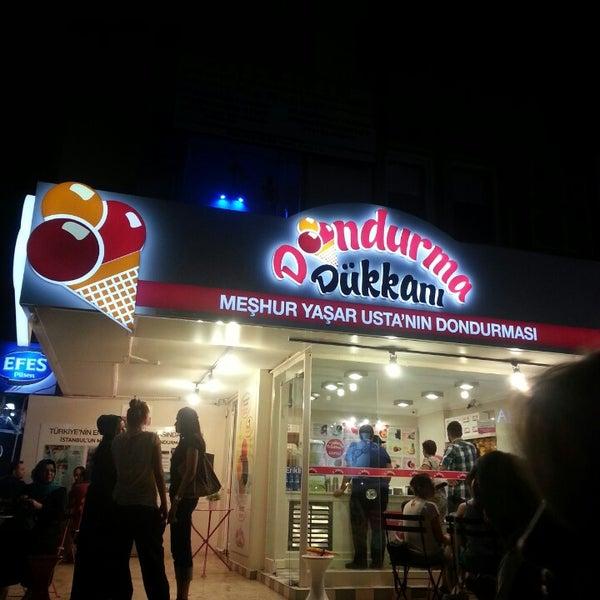 9/9/2013 tarihinde Müge S.ziyaretçi tarafından Dondurma Dükkanı'de çekilen fotoğraf