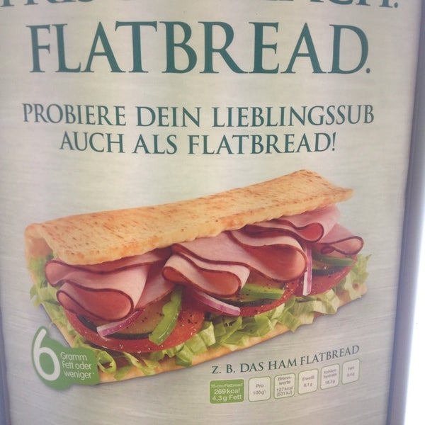 Endlich auch Flatbread in Deutschland!