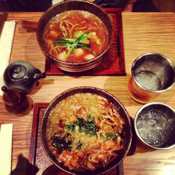 Amazing! Delicious veggie soba, authentic and flavorful for being vegan. One of the best noodle soups I've had in the city!