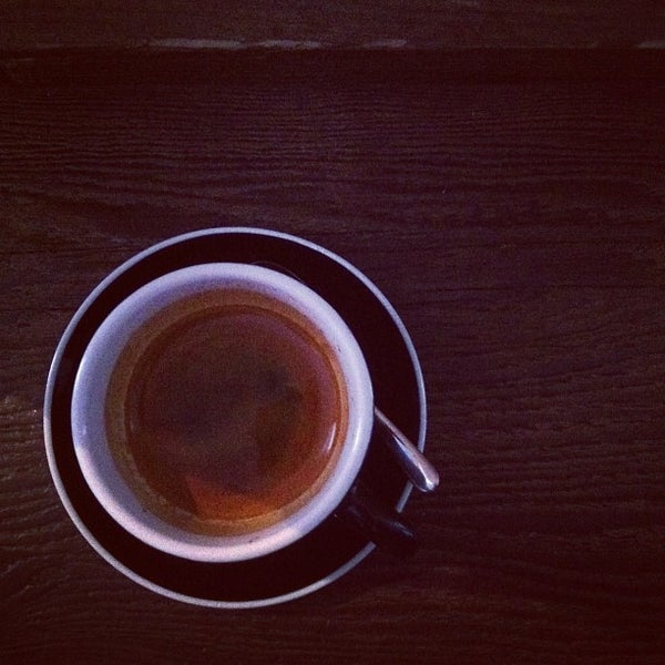 Photo taken at Bonanza Coffee by Janosch B. on 3/3/2013