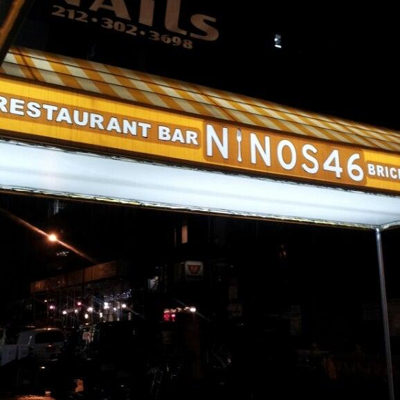 nino 39 s 46 italian restaurant in midtown east. Black Bedroom Furniture Sets. Home Design Ideas