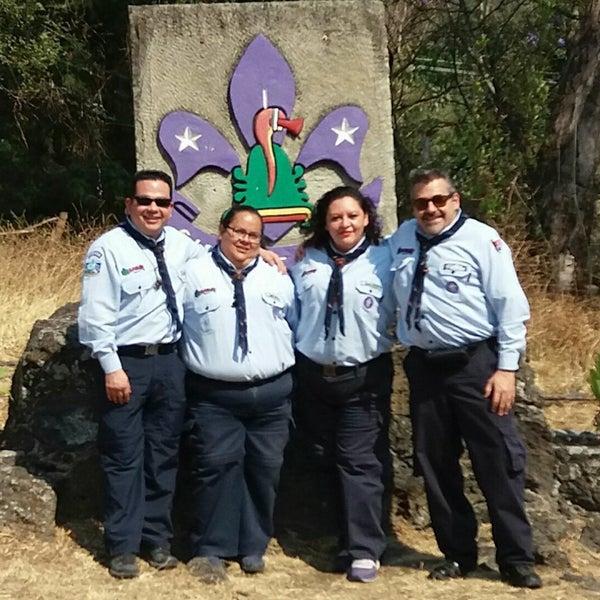 Foto tirada no(a) Campo Escuela Scout Meztitla por Miner H. em 3/18/2017