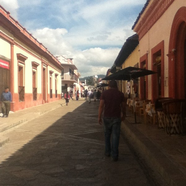 Photo taken at Andador Real de Guadalupe by Eduardo L. on 1/13/2013