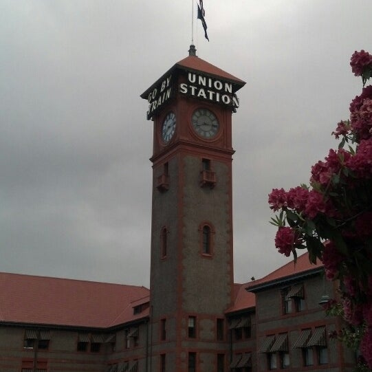 Photo taken at Union Station Amtrak (PDX) by Kathy P. on 5/21/2013