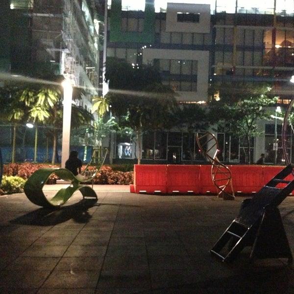 Photo taken at Bonifacio High Playground by Ayanhie A. on 7/15/2013
