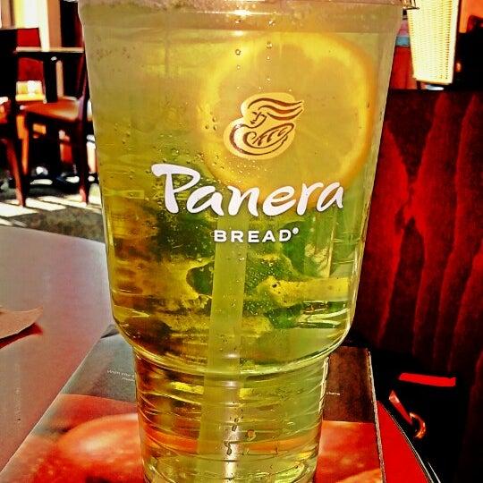 Photo taken at Panera Bread by MoNaYaH a. on 4/1/2015