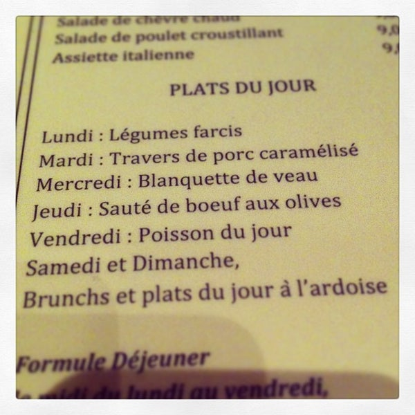 Photo taken at Café de l'Industrie by Anais B. on 4/4/2013