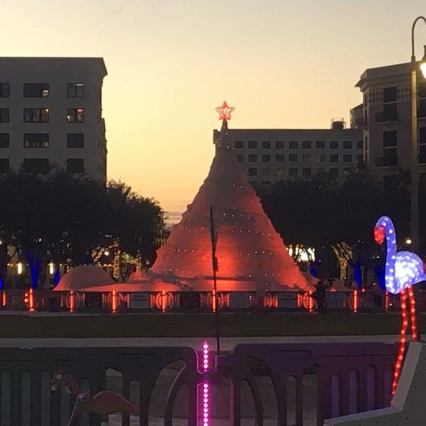 Sandi The Sand Christmas Tree Sculpture Garden In West Palm Beach