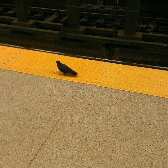 Photo taken at SEPTA MFL/TRL 15th Street Station by winston y. on 7/4/2013