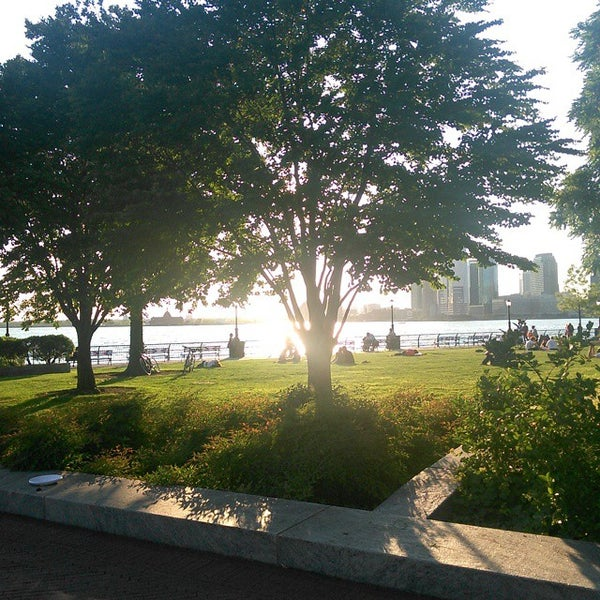 Photo taken at Battery Park City Esplanade by Calvin K. on 6/6/2015