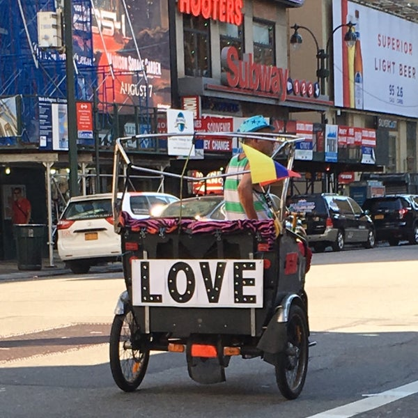 Photo taken at Garment District by Andrea M. on 8/4/2017