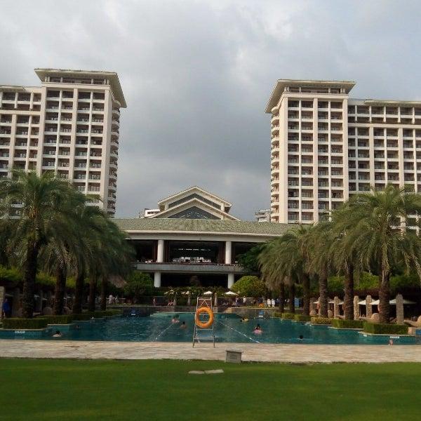 Photo taken at HowardJohnson Resort Sanya Bay by Daisuke N. on 10/3/2014